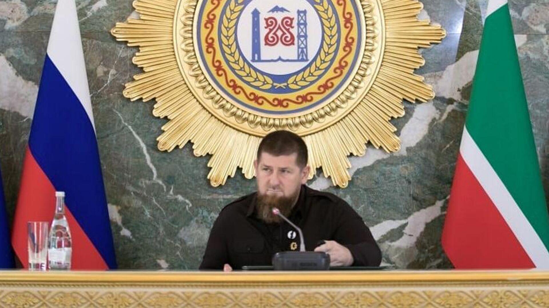 Глава Чечни Рамзан Кадыров - РИА Новости, 1920, 27.09.2020