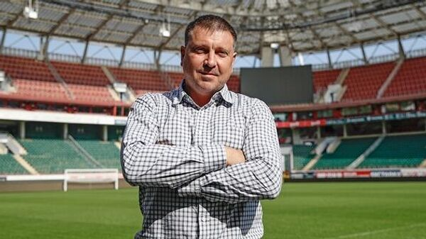 Главный тренер Иртыша Евгений Харлачев