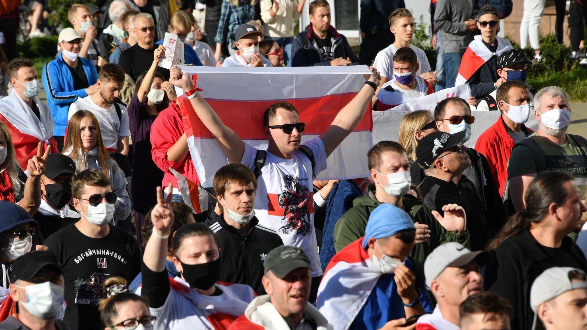 Акция протеста Марш справедливости в Минске - РИА Новости, 1920, 21.09.2020