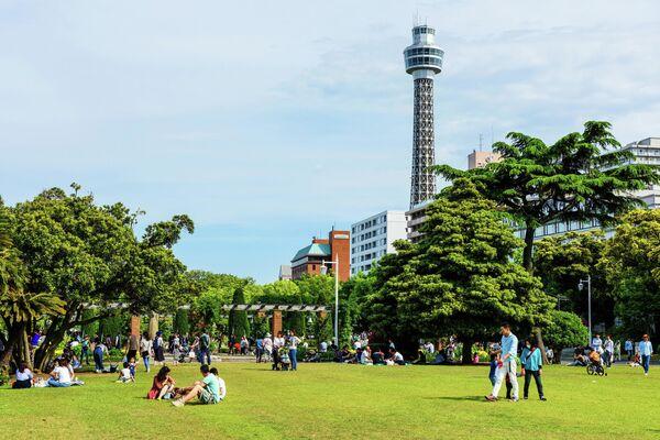 Морская башня в Иокогаме