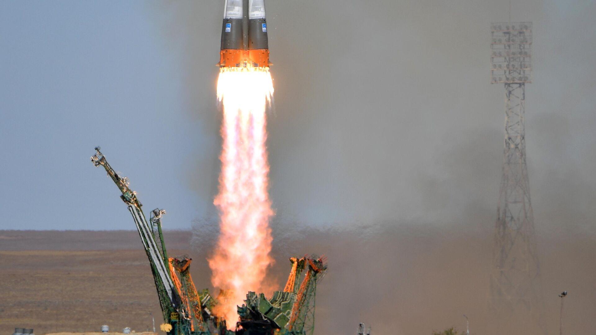 Старт ракеты-носителя - РИА Новости, 1920, 17.01.2021