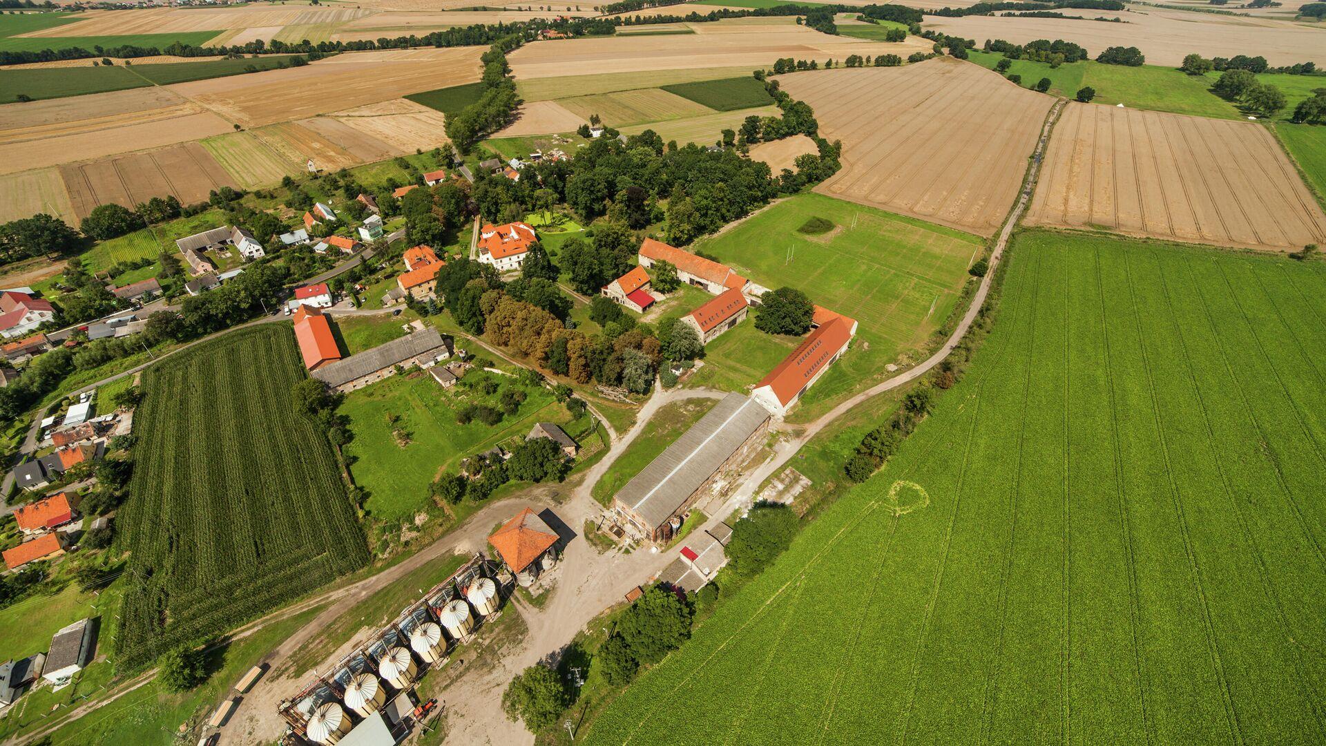 Ферма в Польше - РИА Новости, 1920, 23.09.2020