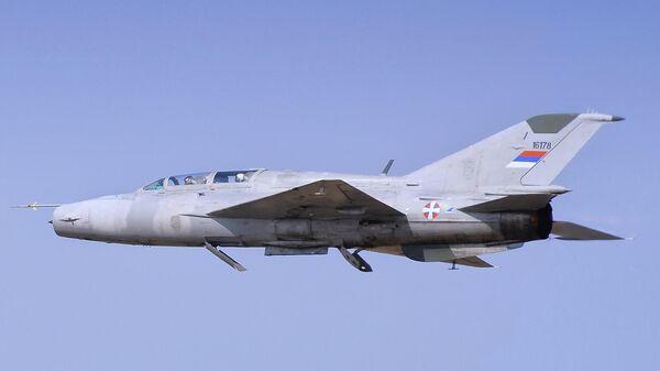 Истребитель МиГ-21 ВВС Сербии