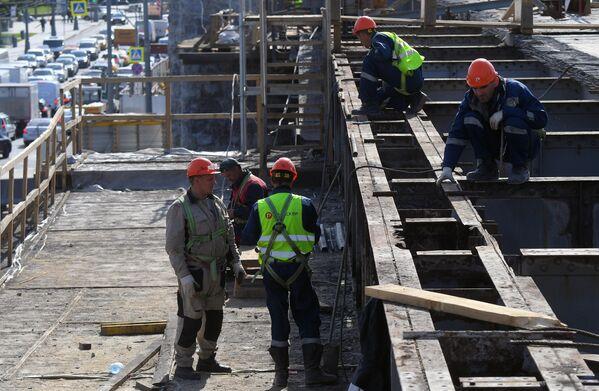 Ремонт Большого Каменного моста в Москве
