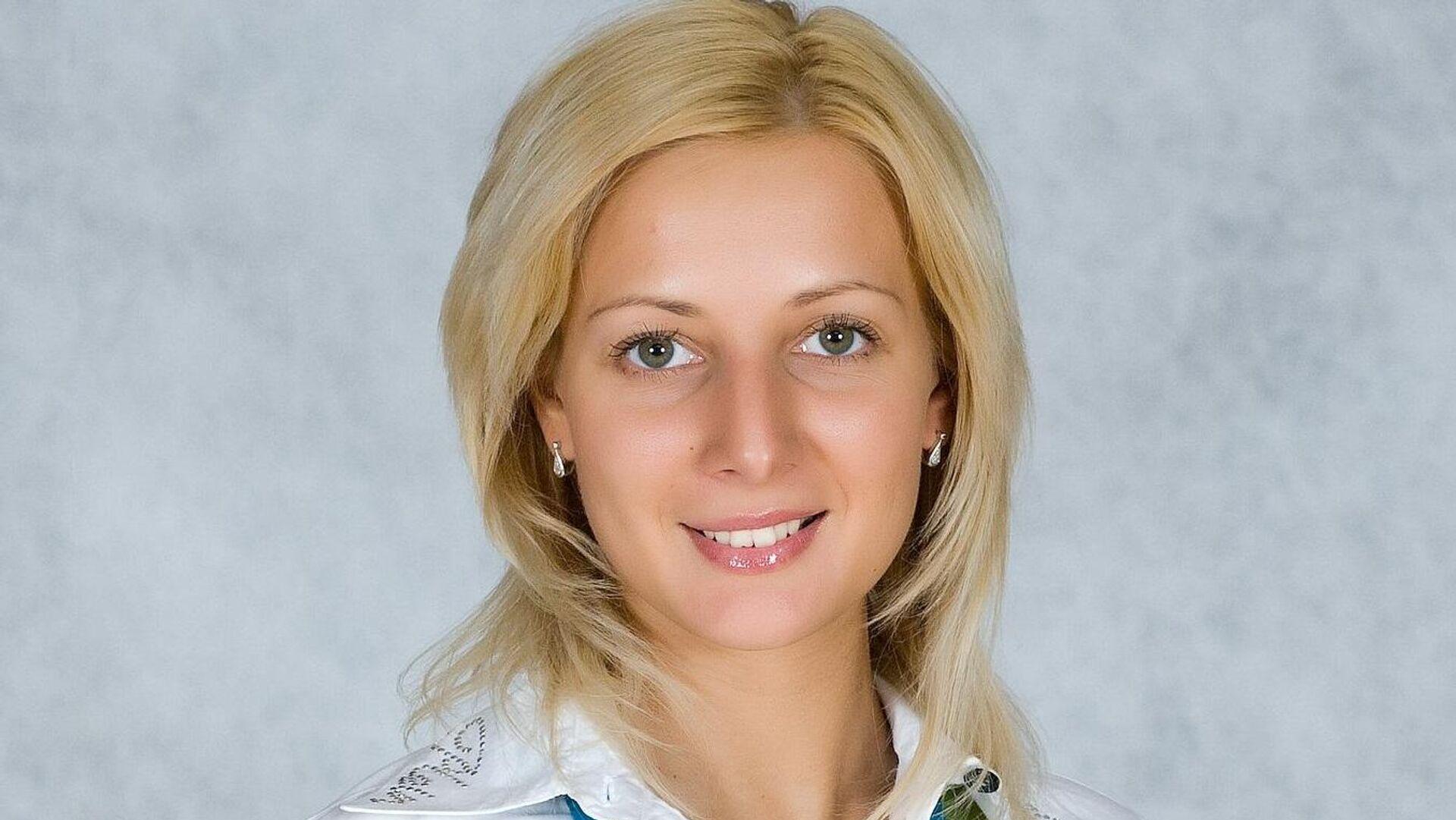Гимнастка Наталья Лаврова - РИА Новости, 1920, 25.09.2020