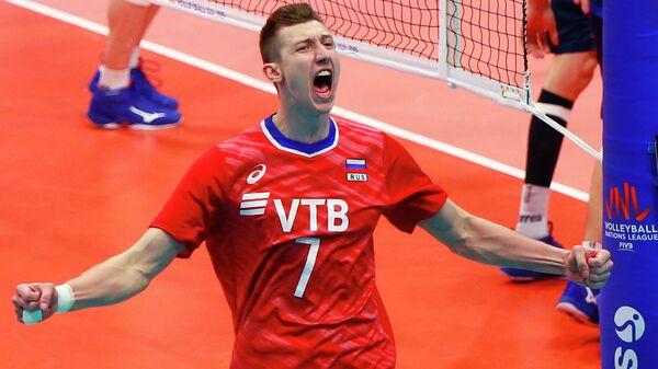 Волейбол. Мужчины. Этап Лиги Наций. Матч Россия - Италия