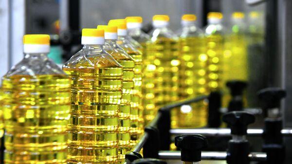 Линия разлива и фасовки подсолнечного масла