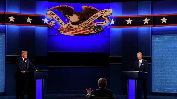Дебаты Трампа и Байдена в США