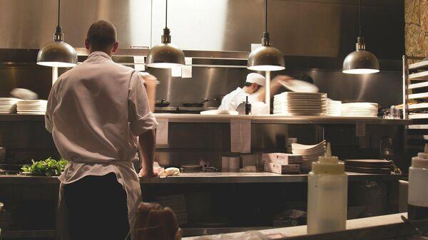 Работники ресторана