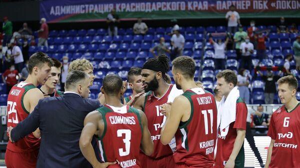 Баскетболисты краснодарского Локомотива-Кубани