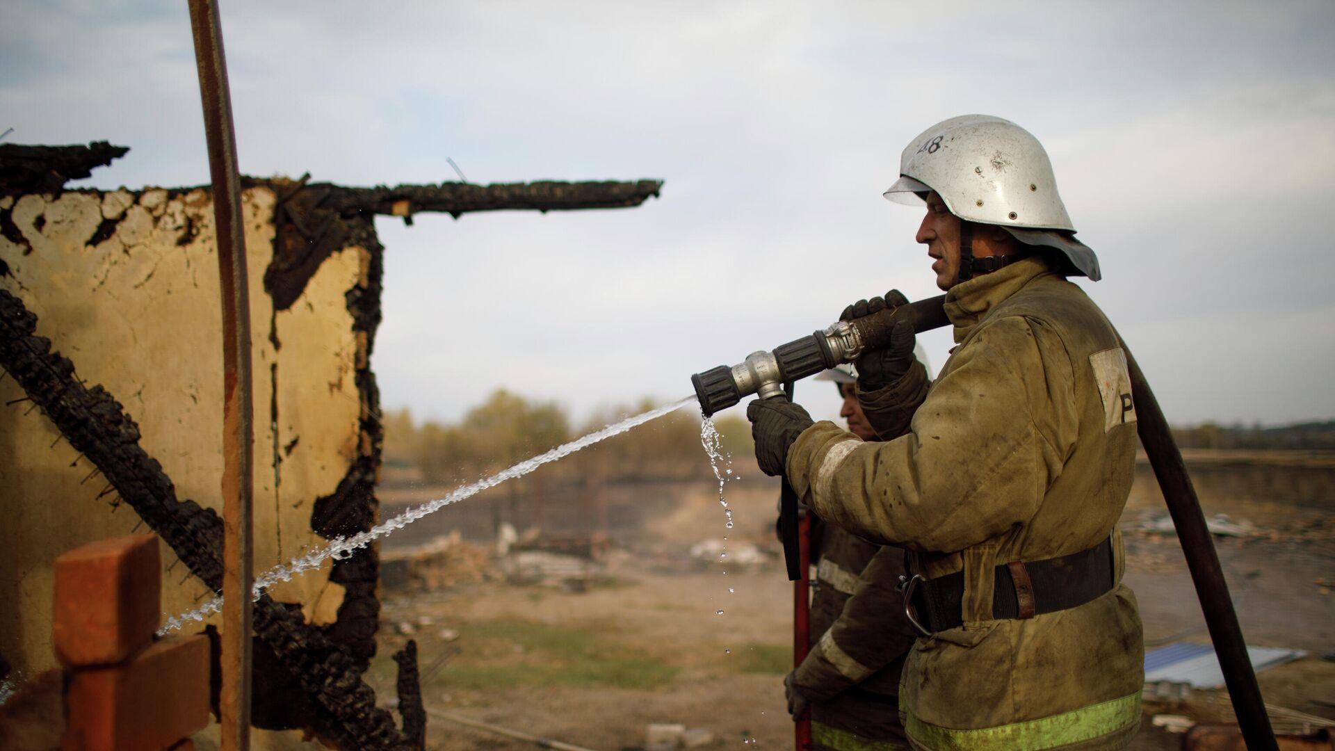 Короткое замыкание могло стать причиной пожара в коллекторе в Москве