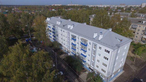 В Орехово-Зуеве отремонтировали дом после взрыва бытового газа в апреле