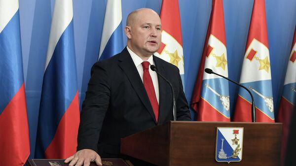 Губернатор Севастополя Михаил Развожаев на церемонии инаугурации