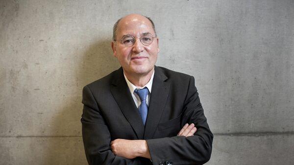 Немецкий политик, один из лидеров партии Левые, депутат бундестага ФРГ Грегор Гизи