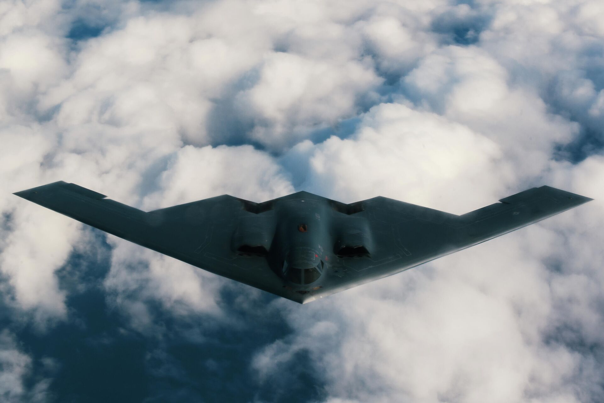 Американский малозаметный стратегический бомбардировщик Northrop B-2 Spirit - РИА Новости, 1920, 08.04.2021