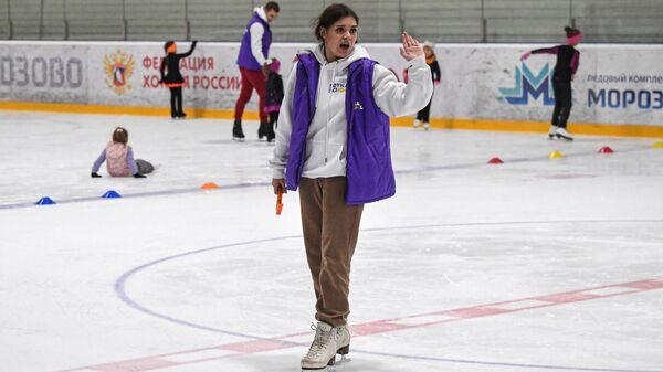 Открытие школы фигурного катания А. Сотниковой