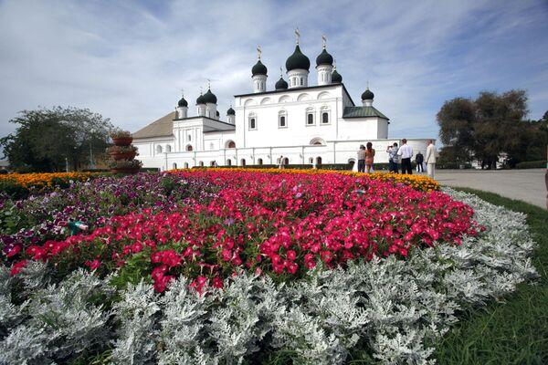 Троицкий собор на территории Астраханского кремля