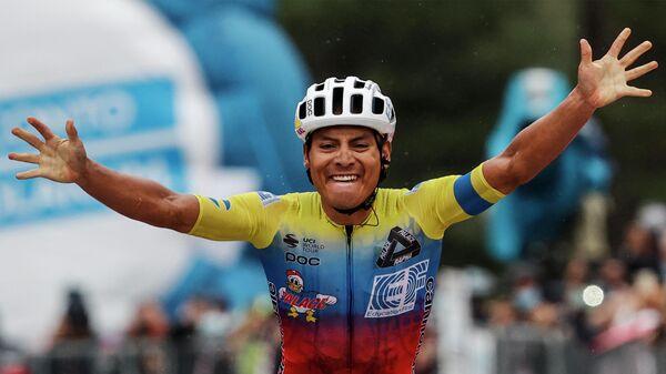 Эквадорский велогонщик Хонатан Кайседо
