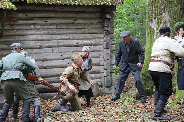 Мемориальный комплекс партизанской славы Хованщина