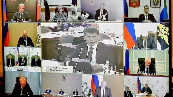 Президент РФ В. Путин провел заседание совета по развитию физической культуры и спорта