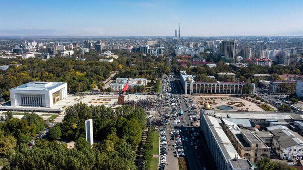 Вид Бишкека