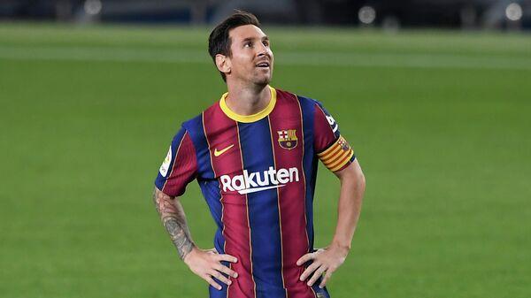 Футболист Барселоны Лионель Месси