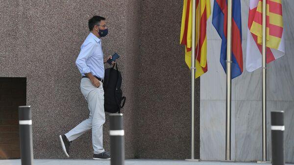 Президент Барселоны Хосеп Мария Бартомеу