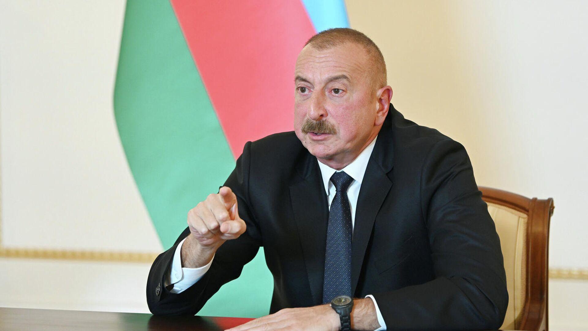 Президент Азербайджана Ильхам Алиев - РИА Новости, 1920, 09.10.2020