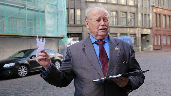 Председатель латвийского Общереспубликанского общества военных ветеранов гражданин РФ Владимир Норвинд