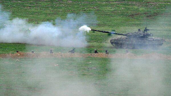 Военнослужащие Армии обороны Арцаха на позициях в Нагорном Карабахе