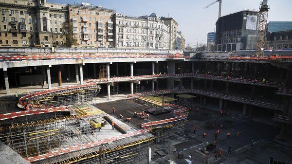 Реконструкция Павелецкой площади в Москве