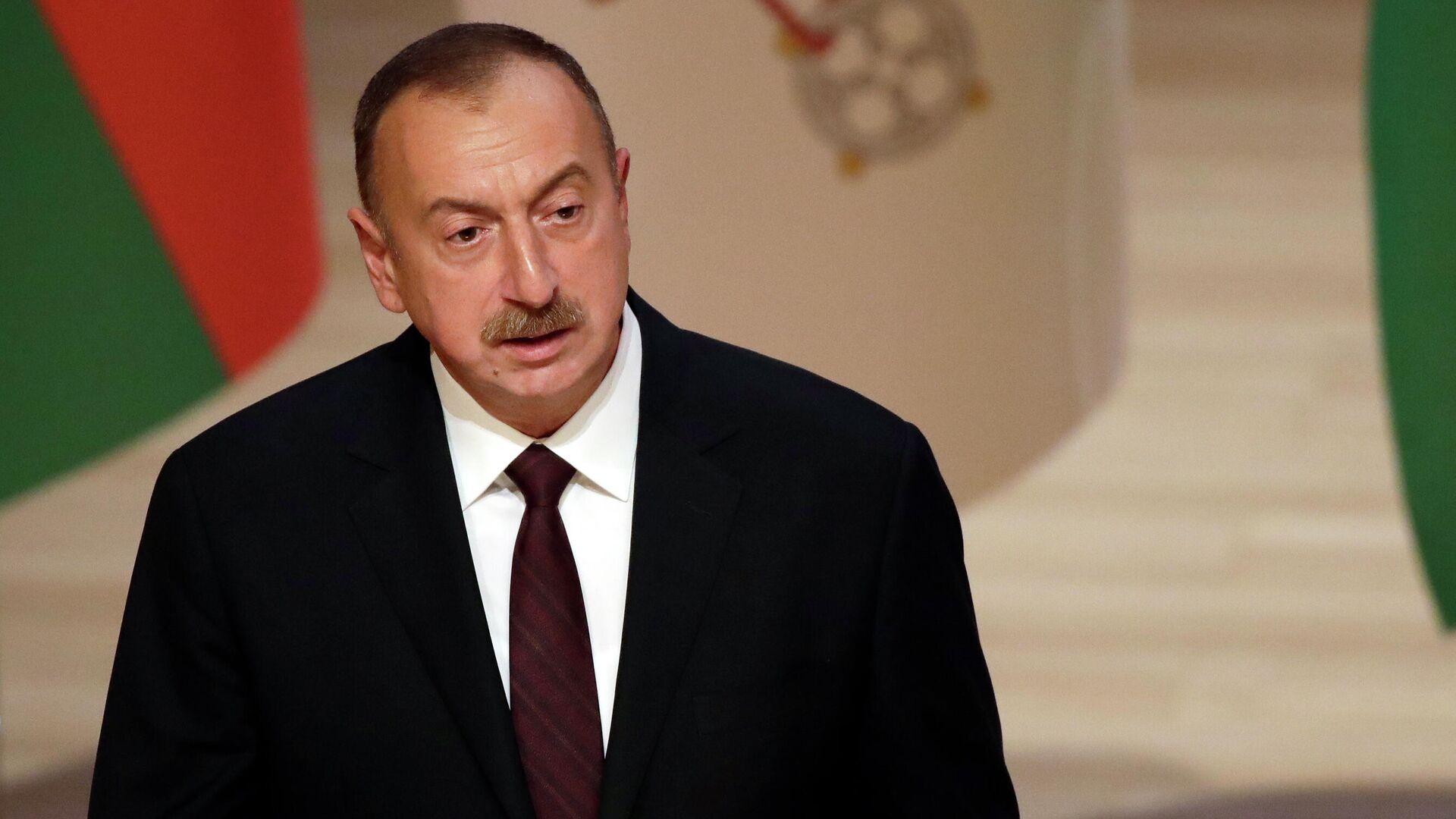 Президент Азербайджана Ильхам Алиев - РИА Новости, 1920, 18.10.2020