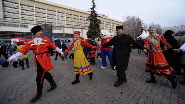 Народные гуляния в День народного единства