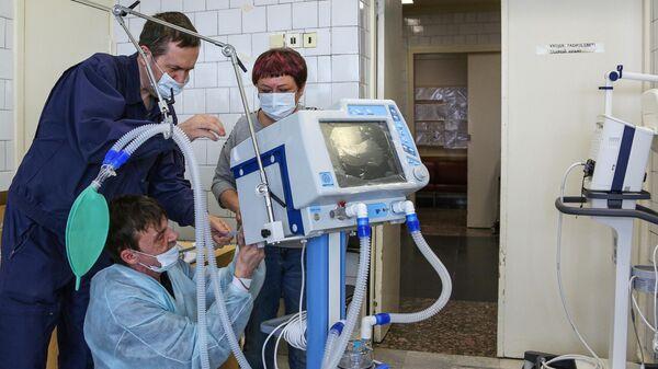 Установка аппаратов искусственной вентиляции легких Авента-М