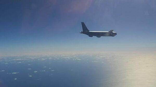 Перехват американских бомбардировщиков над Беринговым морем