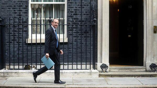 Министр иностранных дел Британии Доминик Рааб