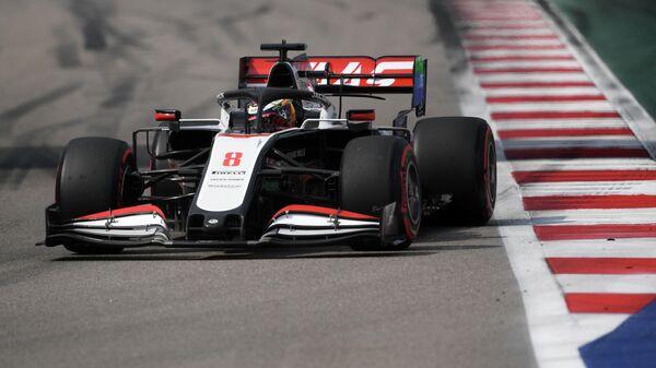 Автоспорт. Формула 1. Гран-при России. Свободные заезды. Третья сессия