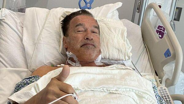 Арнольд Шварценеггер после операции