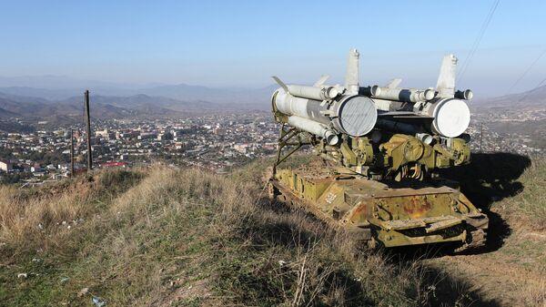 Зенитно-ракетный комплекс (ЗРК) Круг на подступах к Степанакерту