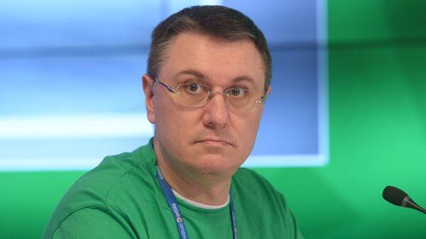 Василий Конов на пресс-конференции в Международном мультимедийном пресс-центре МИА Россия сегодня