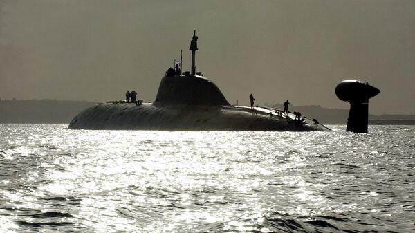 Атомная подводная лодка Северного флота Российской Федерации К-157 Вепрь проекта 971 Щука-Б