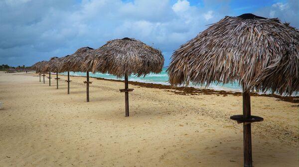 Пляж на острове Кайо-Коко на Кубе