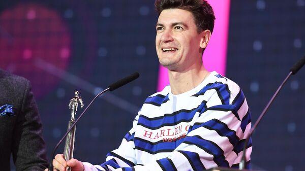 Телеведущий Александр Гудков