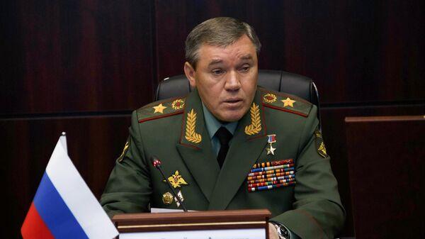 Начальник Генерального штаба Вооруженных сил России Валерий Герасимов