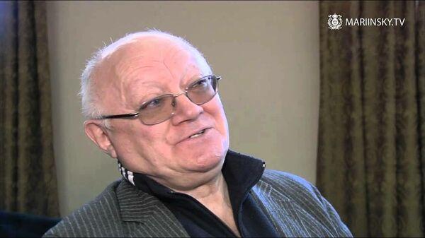 Бывший солист Мариинского театра, педагог и балетмейстер Геннадий Селюцкий