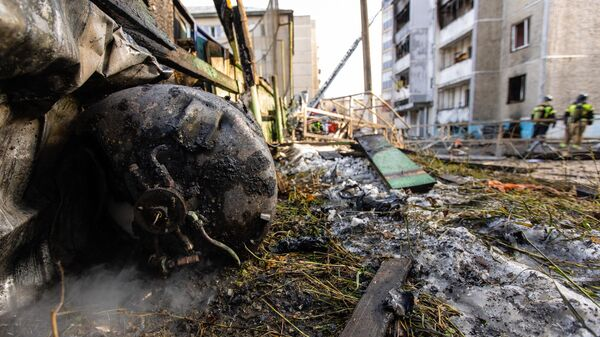 Последствия взрыва и возгорания в поликлинике 2-й городской больницы Челябинска