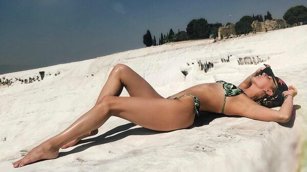 Олимпийская чемпионка в синхронном плавании Мария Шурочкина