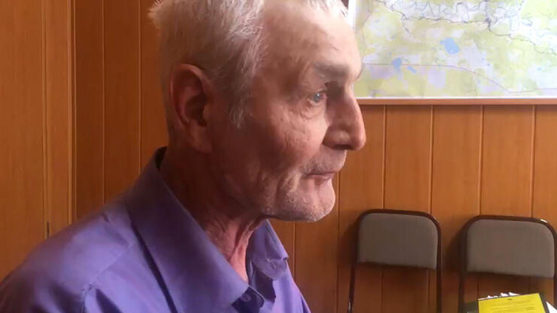 Житель Тевриза, обвиняемый в убийстве ветерана Великой Отечественной войны  - РИА Новости, 1920, 03.11.2020
