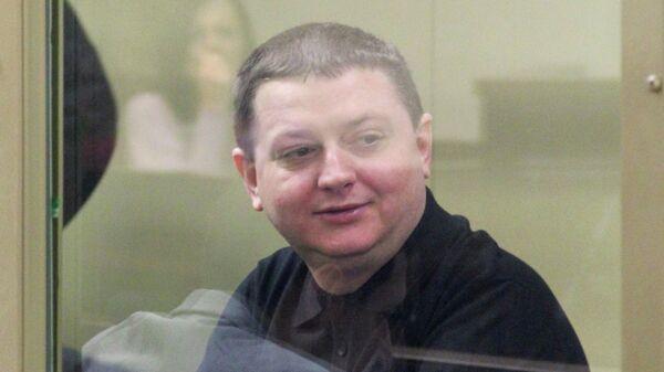 Подсудимый Вячеслав Цеповяз в зале заседаний Краснодарского краевого суда
