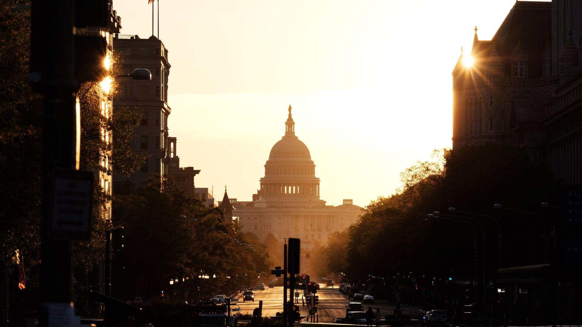 Здание Капитолия США в Вашингтоне - РИА Новости, 1920, 13.12.2020